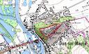 Carte de Dun-sur-Meuse