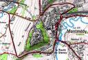 Carte de Montmédy