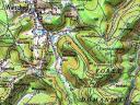 Carte du cimetière des Trois Saints