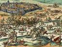 Le combat de Stenay d'après Hogenberg