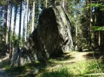 La pierre Kerlinkin à Saint-Etienne-les-Remiremont (88) dans La Lorraine pittoresque Pierre-Kerlinkin-1-150x112