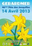 Fête des jonquilles à Gérardmer (88) dans Sortir en Lorraine affiche-fete-jonquilles-gerardmer-2013-106x150
